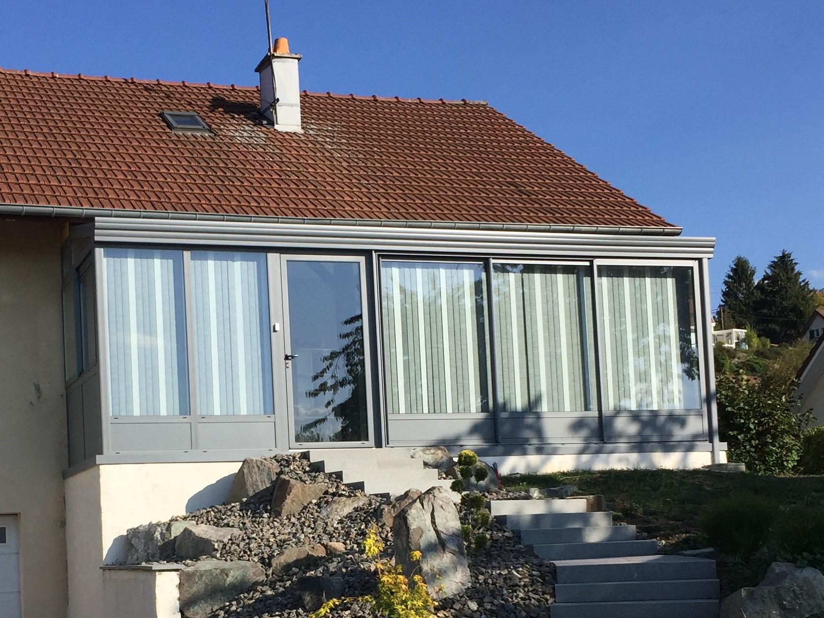 Véranda du Jura, pose véranda et extension maison Montbéliard, Belfort
